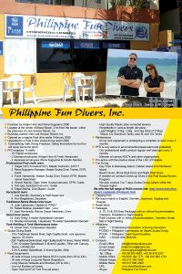 About Philippine Fun Divers Alona Beach Panglao Bohol Philippines