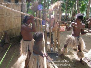 Philippine Fun Divers Alona Beach Panglao Bohol Adventure trip Loboc River Ate tribe Rena Sugiyama in custody