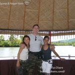 Philippine Fun Divers Alona Beach Panglao Bohol Adventure trip Loboc River floating restaurant 2
