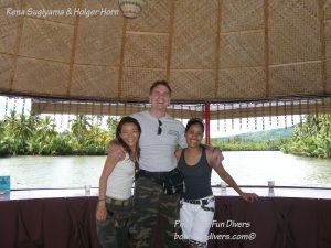 Philippine Fun Divers Alona Beach Panglao Bohol Adventure trip Loboc River floating restaurant 2