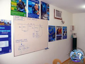 Philippine Fun Divers Alona Beach Panglao Bohol Classroom 3