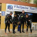 Philippine Fun Divers - Divers Alona Beach Panglao Bohol Holger Horn Rena Sugiyama