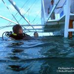 Philippine Fun Divers - Divers Alona Beach Panglao Bohol Holger and Ambassador to Australia Rod Smith
