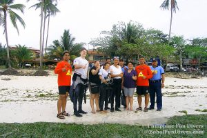 Philippine Fun Divers - Divers Alona Beach Panglao Bohol President Ramos 3