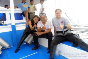 Philippine Fun Divers - Divers Alona Beach Panglao Bohol President Ramos 5