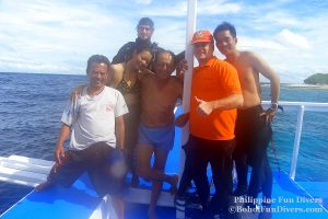 Philippine Fun Divers - Divers Alona Beach Panglao Bohol President Ramos 9