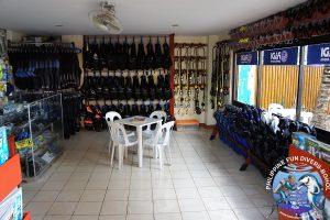 Philippine Fun Divers dive center inside 2