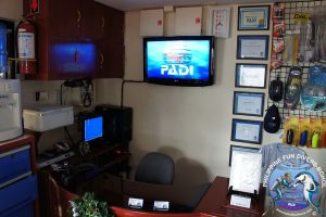Philippine Fun Divers dive center inside 3