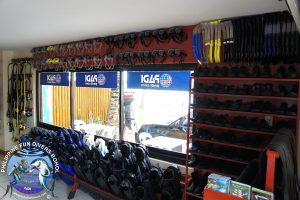Philippine Fun Divers dive center inside 9